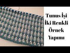 Tunisian Crochet Patterns, Crochet Granny, Knitting Patterns, Knitting Tutorials, Lace Knitting, Knitting Stitches, Lace Patterns, Stitch Patterns, Crochet Blouse