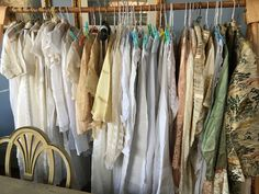 I am selling an large collection of precious early silk,lace and cotton clothing. vinelandantiques.ca Wardrobe Rack, Silk, Antiques, Lace, Clothing, Cotton, Furniture, Collection, Home Decor