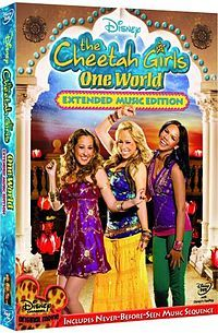 The Cheetah Girls: One World (Disney Channel) i was obsessed with the cheetah girls :) oh my gosh!