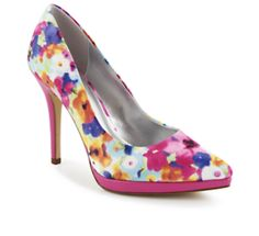 Limelight Heartbreaker Women's Shoe Leave 'em lusting after your chic sense of style in the Heartbreaker women's shoe from Limelight. This haute heel was made to turn heads with its fierce pointed toe and streamlined silhouette. (FLORAL) | Rack Room Shoes