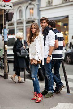 画像 : 秋冬のOlivia Palermo(オリビア・パレルモ)ファッションコーデが可愛い! - NAVER まとめ