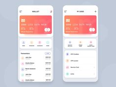 Wallet app designed by Manoj Rajput for Mindinventory. Connect with them on Dribbble; Web Design, App Ui Design, Dashboard Design, Flat Design, Graphic Design, Themes App, Settings App, App Design Inspiration, Mobile Ui Design