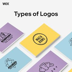 Here are 9 different types of logos you'll find, plus tips on how to use them to create a winning design.