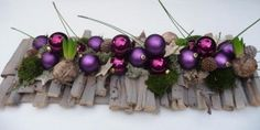 Tafelstuk Landelijk Purple
