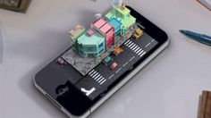 Los Angeles-based 3D artist Mike Ko produced this charming live action animation as his graduation project from Otis College of Art & Design. Titled iPhone Diorama, and taking around three months to complete, watch as buildings spring from the phone's glass screen as a car skids around a corner.  Check out the live action in the video below