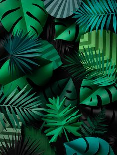 Fideli Sundqvist | Jungle Leaves...