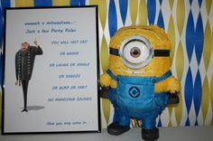 Minion party rules