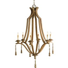 Simplicity Small Chandelier ($1,055) ❤ liked on Polyvore
