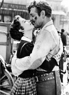 "Clark Gable and Ava Garnder ""Lone Star"""