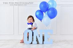 ONE year old boy photoshoot