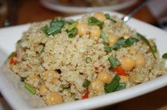 Quinoa and Garbanzo Bean Salad - Dr. Mark Hyman