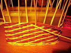 Výsledek obrázku pro šikmé pletení z papíru
