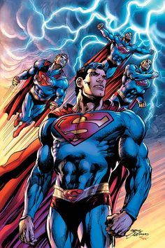 #Superman #Fan #Art. (SUPERMAN: THE COMING OF THE SUPERMEN HC #1) By: Neal Adams. (THE * 5 * STÅR * ÅWARD * OF: * AW YEAH, IT'S MAJOR ÅWESOMENESS!!!™)[THANK U 4 PINNING!!!<·><]<©>ÅÅÅ+(OB4E)