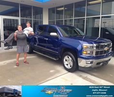 Congratulations to Robert Darden on your new car  purchase from Ethan Neely at Crossroads Chevrolet Cadillac! #NewCar