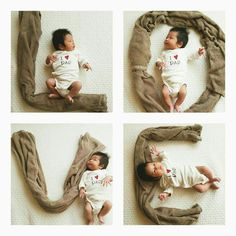 baby photoshoot Amazing Baby Photoshoot Ideas At Home - DIY - ABC of Parenting Monthly Baby Photos, Newborn Baby Photos, Baby Poses, Baby Boy Photos, Newborn Pictures, Baby Boy Newborn, Baby Pictures, Book Bebe, Baby Shooting