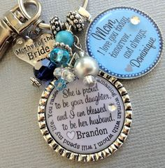 MOTHER of the BRIDE gift PERSONALIZED necklace mother by buttonit