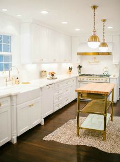 Simone Design Blog | Decor inspirations: accessorizing with gold