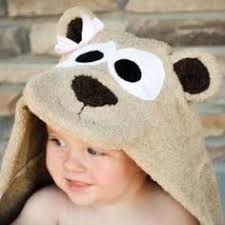 baby monkey hooded towel ile ilgili görsel sonucu