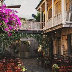 Ceremony location in New Orleans. Race and religious venue.Reminds me of New Orleans Square in Disneyland. Best Wedding Venues, Wedding Locations, Wedding Themes, Rooftop Wedding, Wedding Dresses, Perfect Wedding, Dream Wedding, Wedding Day, Wedding Bells