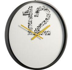 number 12 clock - CB2