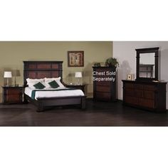 Kenwood king bedroom set purchased last year cant wait to have a bugger bedroom to spread out for Ashfield 6 piece queen storage bedroom set