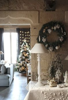 French Christmas decoration