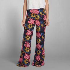 Mujer - Pantalón de pierna ancha Erin | Mujer - Pantalones | Abercrombie.com