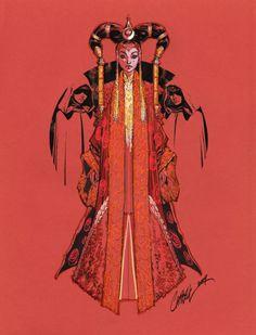 Queen Amidala by J. Scott Campbell