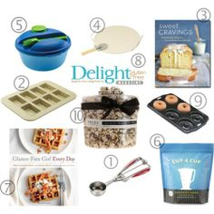 Gluten Free Holiday Gift Guide for under $35!