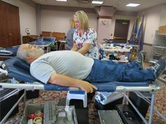 Milestone 70th lifetime donation for David Duell.