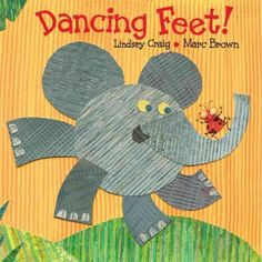 Easy-to-read, rhyming text depicts different animals dancing.