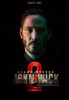 John Wick: Chapter 2 is an action film. It stars Keanu Reeves, Common, Laurence Fishburn. John Wick 2 Movie, John Wick Hd, Watch John Wick, Keanu Reeves John Wick, Keanu Charles Reeves, Best Action Movies, Action Film, Funny One Liners, Film 2017