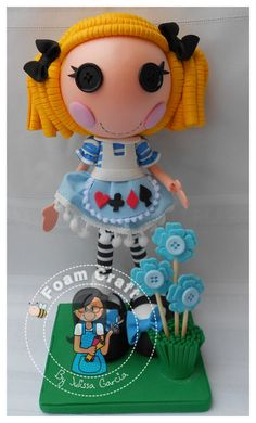 Alice in lalaloopsyland foam doll