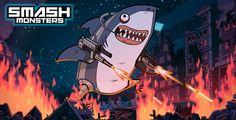 """Das beste Spiel fürs Smartphone? - Das Handygame """"SMASH Monsters"""" verbindet Strategie mit einer lustigen Grafik, einem interessanten Gameplay und hohem Suchtpotential. Pointer hat das Spiel getestet."""