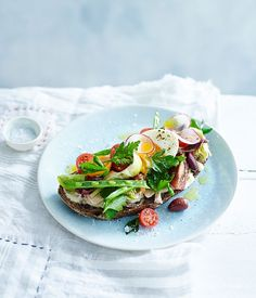 Spring tartines Niçoise recipe | Fast French recipe | Gourmet Traveller recipe :: Gourmet Traveller