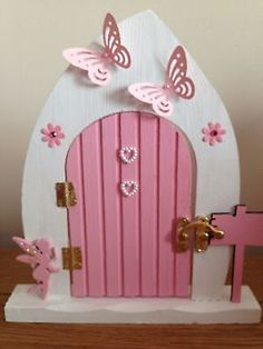 Large Opening Fairy Door - Free Standing