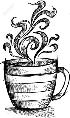 Sketch Doodle Coffee Cup Illustration Art Royalty Free Cliparts, Vectors, And Stock Illustration. Image 17223394.