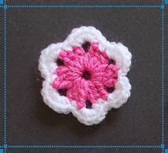 Ravelry: Easy Little Crochet Flower pattern by marianna mel