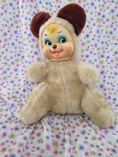 Firma Rushton Puppe Bären von katehartxoxo