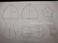 Eu Amo Artesanato: Chapéu de aviador com molde