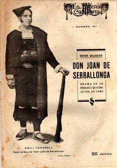 Don Joan de Serrallonga - Víctor Balaguer -LA ESCENA CATALANA nº 161 - 23.08.1924
