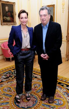 Kristin Scott Thomas Photos - French Ambassadors Lunch - Zimbio