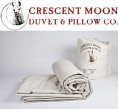Crescent Moon Alpaca Duvet Summer Organic - The Mattress & Sleep Company