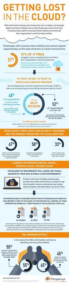 Cloud Infographic - Where Sensitive Data Resides