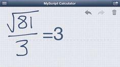 #MyScript Calculator: Risolve i problemi matematici scritti a mano sul vostro #iOS #Device - http://www.appleflick.com/myscript-calculator-risolve-i-problemi-matematici-scritti-a-mano-sul-vostro-ios-device/