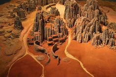 Tiny Desert City by Mamluke, via Flickr