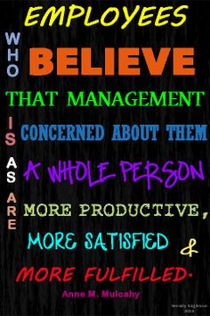 satisfied employees are more productive essay