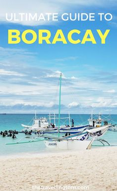 Ultimate Boracay travel guide. Telling all the best things to do in Boracay, such as visiting Ariel's Point. Boracay must be a part of any Philippines itinerary. Find out what to do in Boracay, by checking out my guide now! -------------------------------------------- Where to go in Boracay | Where to stay in Boracay | How to get to Boracay | Boracay travel | Boracay guide | Philippines travel | Philippines trip #boracay #philippines