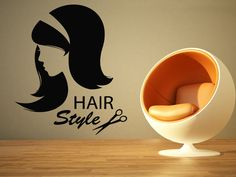 Wall Room Decor Art Vinyl Sticker Mural Decal Hair Beauty Salon Spa Sign AS1693 #3M