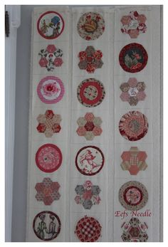 Eefs Needle: O, jee out of lapjes ! Petra Prins, Susan Smith, English Paper Piecing, Applique Designs, Will Smith, Scrap, Sewing, Holiday Decor, Hexagons